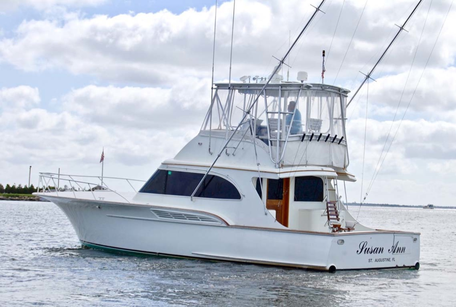 Buddy Davis-47 Sportfish 1991-Susan Ann Long Island-New York-United States-Port-1215689 | Thumbnail