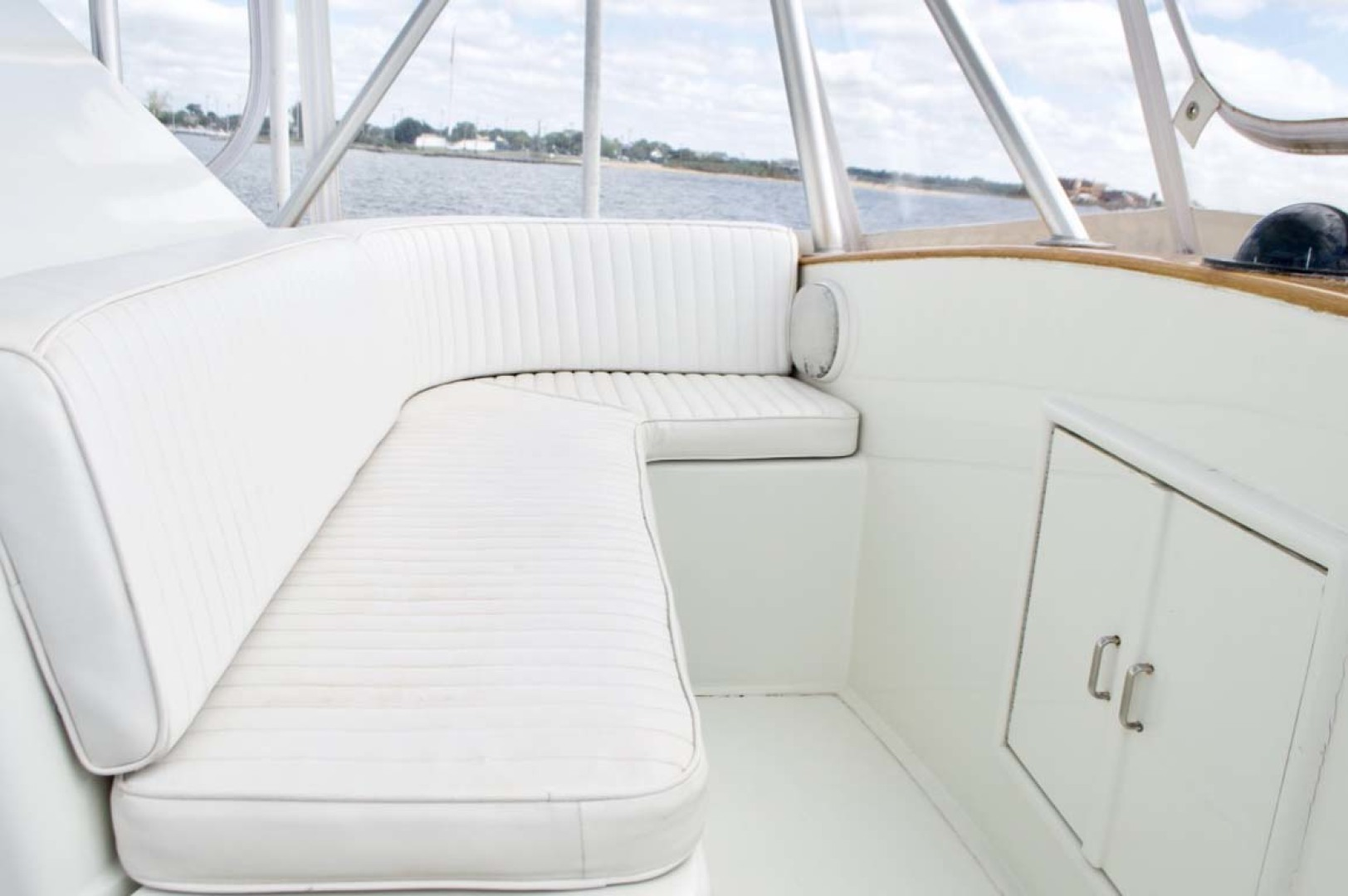 Buddy Davis-47 Sportfish 1991-Susan Ann Long Island-New York-United States-Forward Flybridge Seating-1215711 | Thumbnail