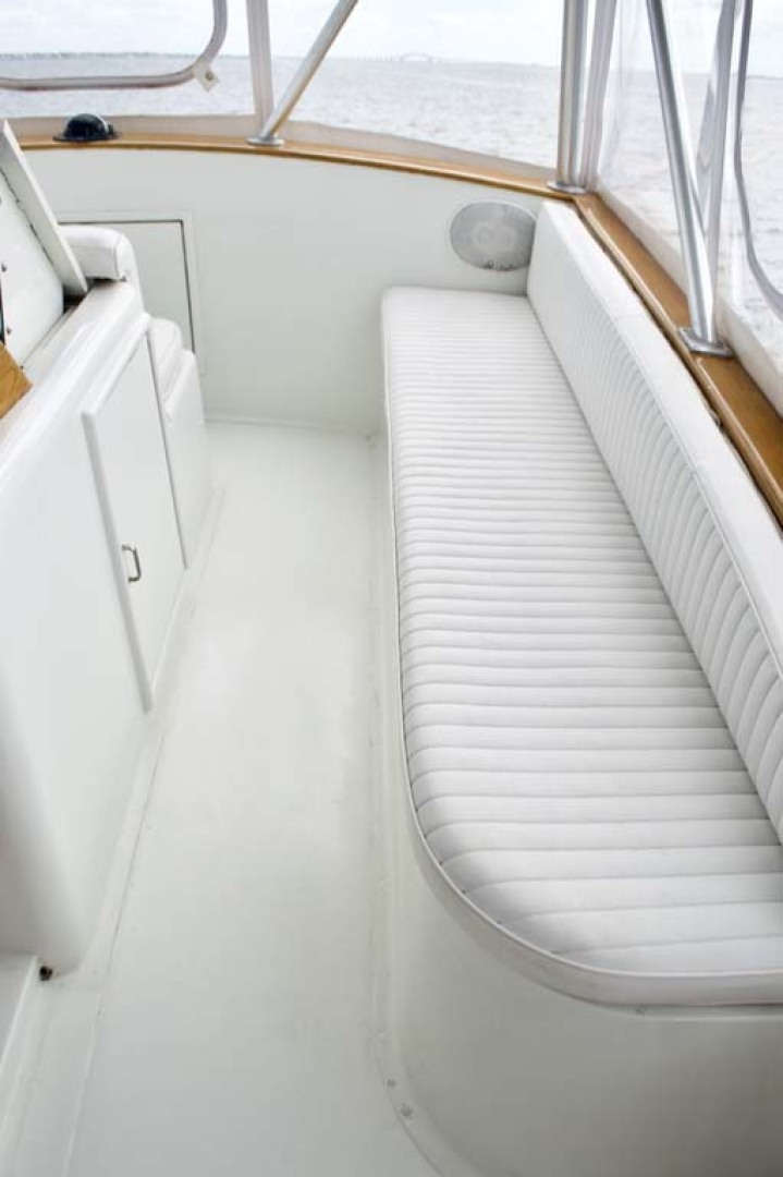 Buddy Davis-47 Sportfish 1991-Susan Ann Long Island-New York-United States-Starboard Flybridge Seating-1215712 | Thumbnail