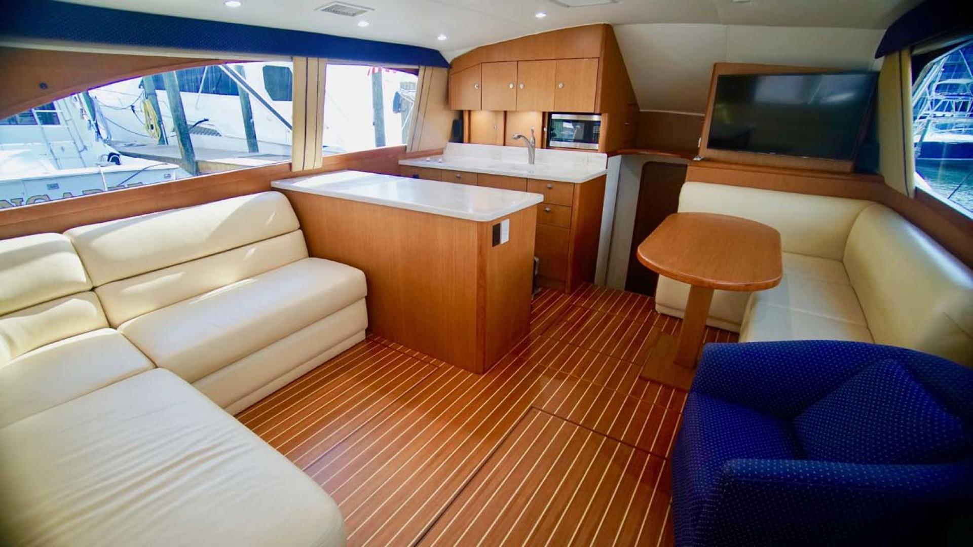 Ocean Yachts-43 Super Sport 2002-Desperado Orange Beach-Alabama-United States-Salon Forward-1219849 | Thumbnail