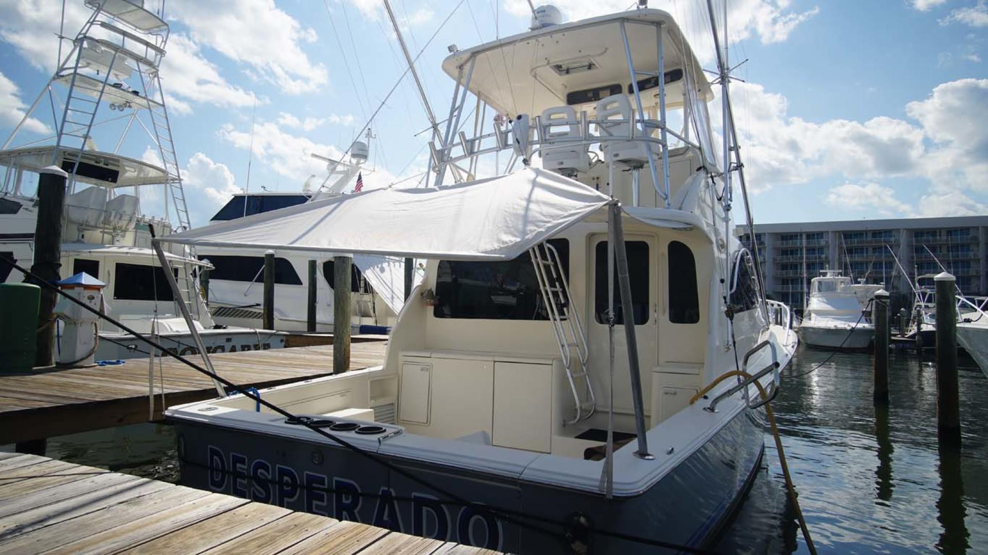 Ocean Yachts-43 Super Sport 2002-Desperado Orange Beach-Alabama-United States-Cockpit Shade-1219876 | Thumbnail