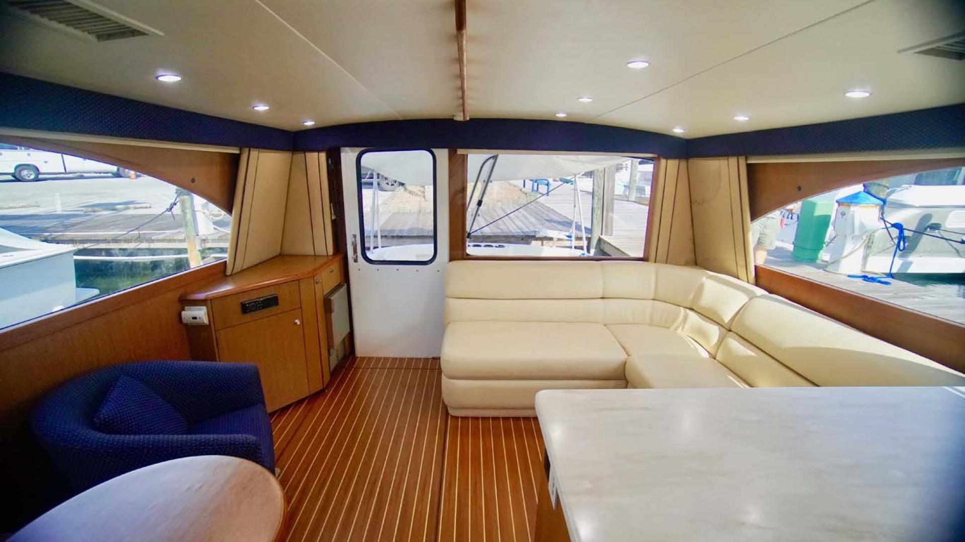 Ocean Yachts-43 Super Sport 2002-Desperado Orange Beach-Alabama-United States-Salon Aft-1219851 | Thumbnail