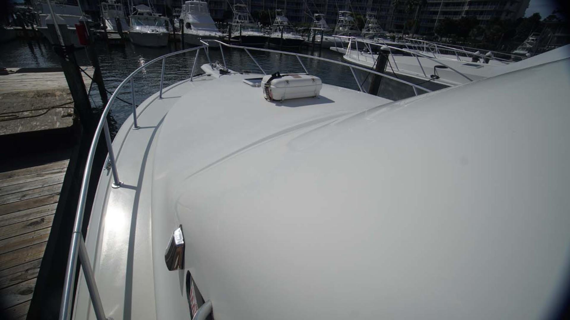 Ocean Yachts-43 Super Sport 2002-Desperado Orange Beach-Alabama-United States-Foredeck Shine-1219867 | Thumbnail