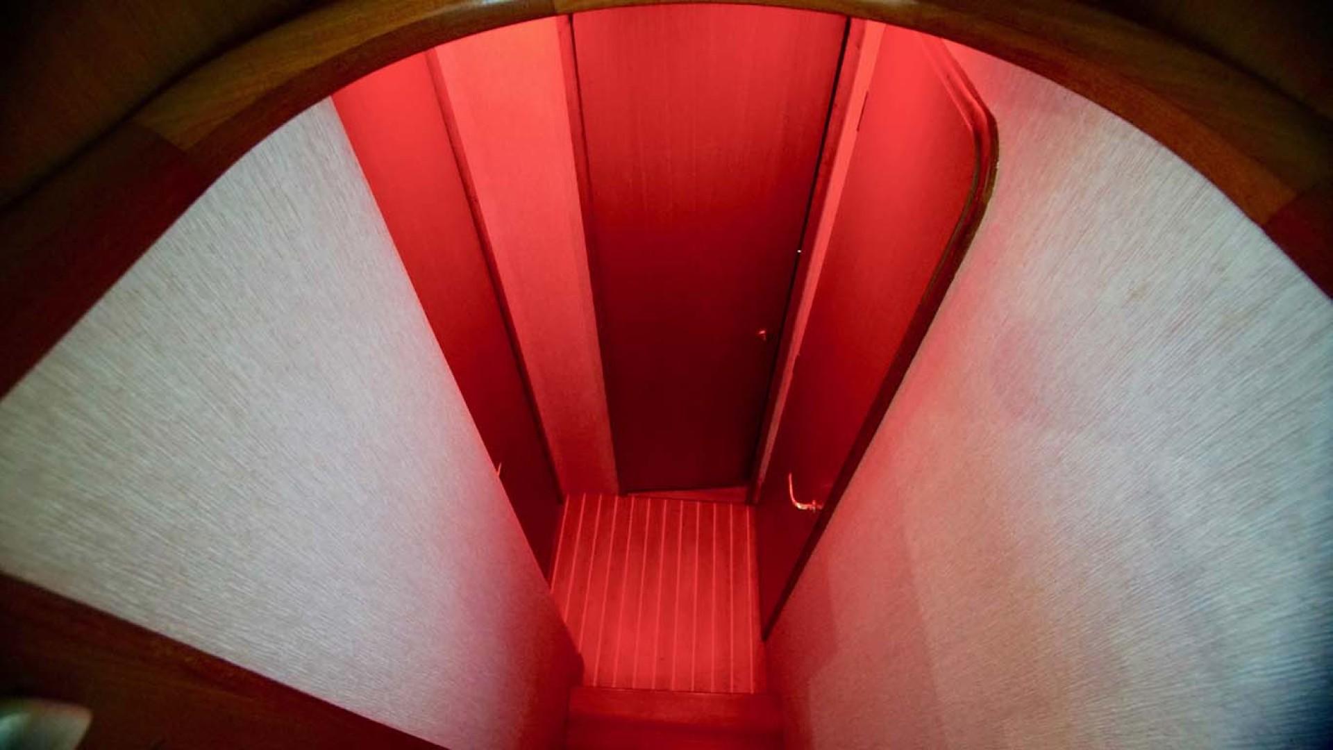 Ocean Yachts-43 Super Sport 2002-Desperado Orange Beach-Alabama-United States-Companionway Red LED-1219864 | Thumbnail