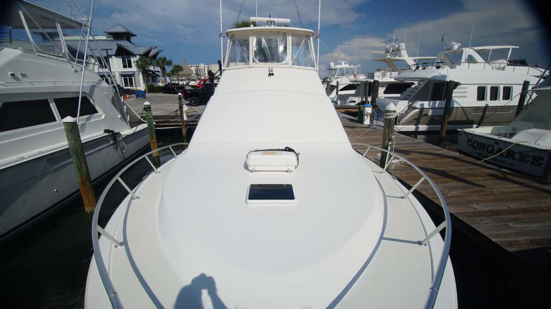 Ocean Yachts-43 Super Sport 2002-Desperado Orange Beach-Alabama-United States-Foredeck Looking Aft-1219866 | Thumbnail