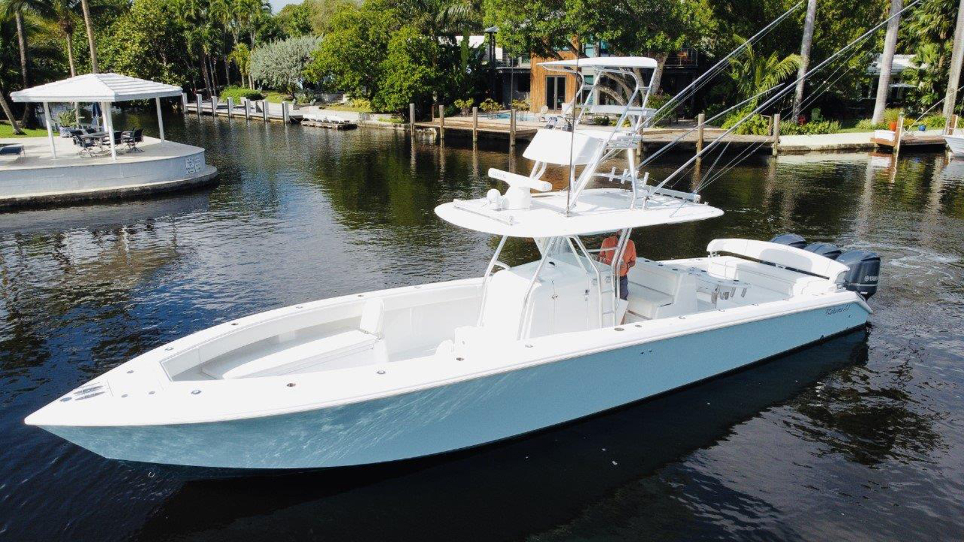 Picture Of: 41' Bahama SeaKeeper Gyro equipped 2014 Yacht For Sale | 1 of 37