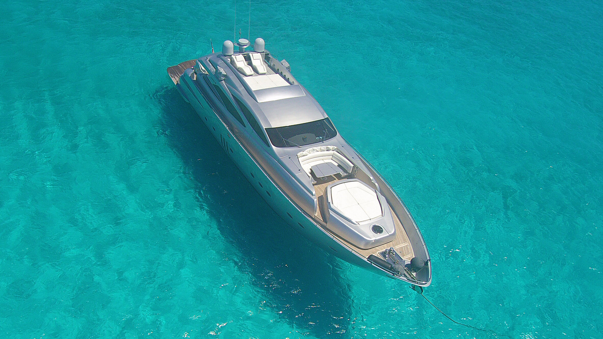 Picture Of: 90' Pershing 90 2007 Yacht For Sale | 2 of 109