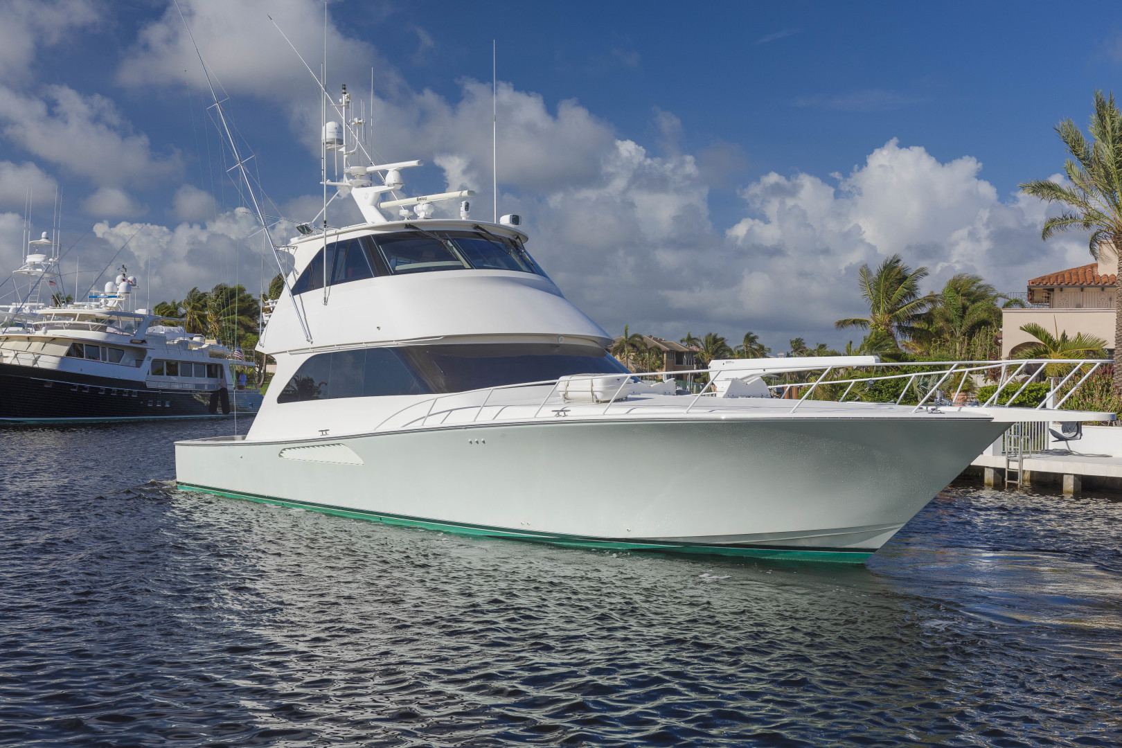 Picture Of: 64' Viking 64 Convertible 2007 Yacht For Sale   1 of 31