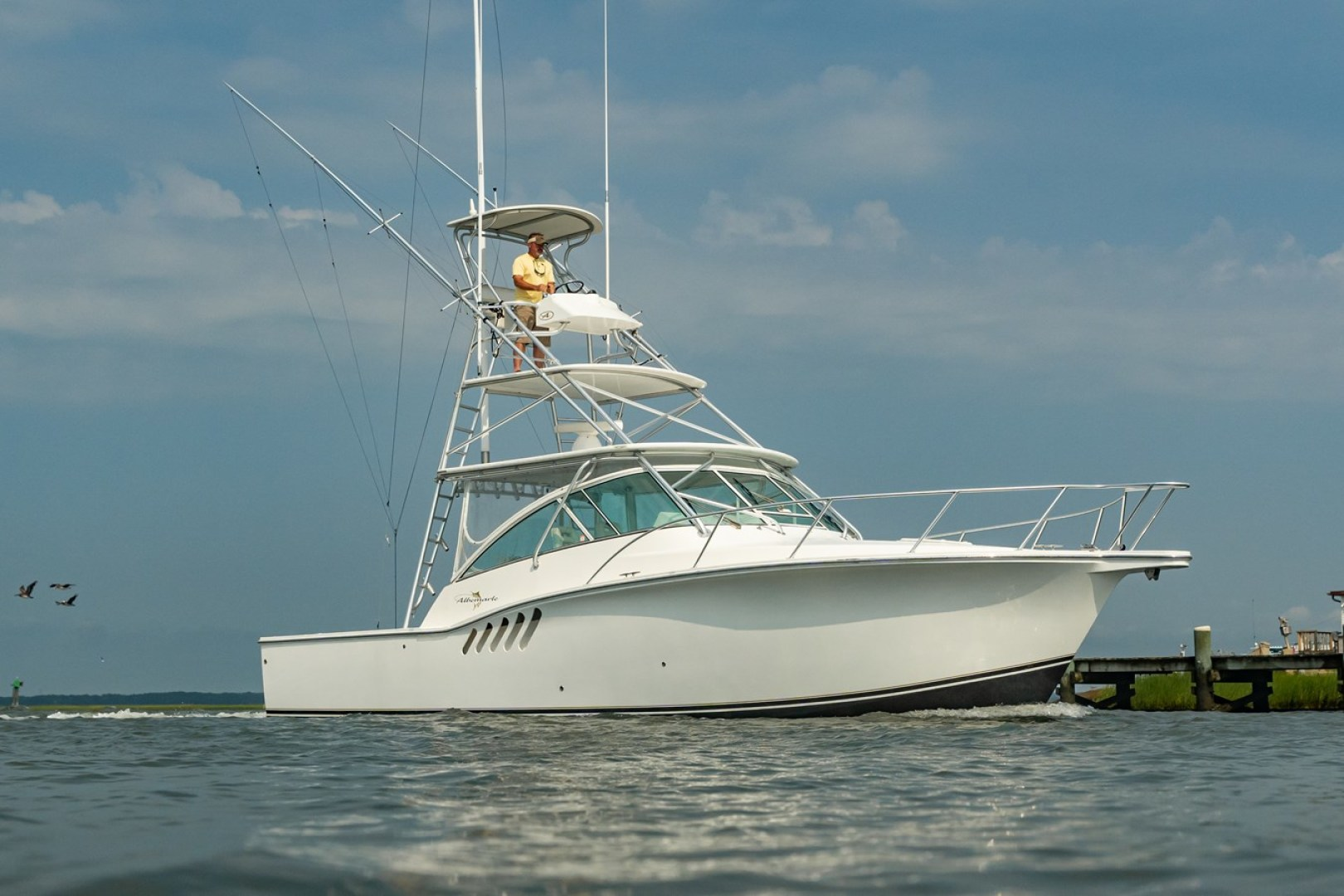 Rumor Has It is a Albemarle 360 Express Fisherman Yacht For Sale in CHINCOTEAGUE--0