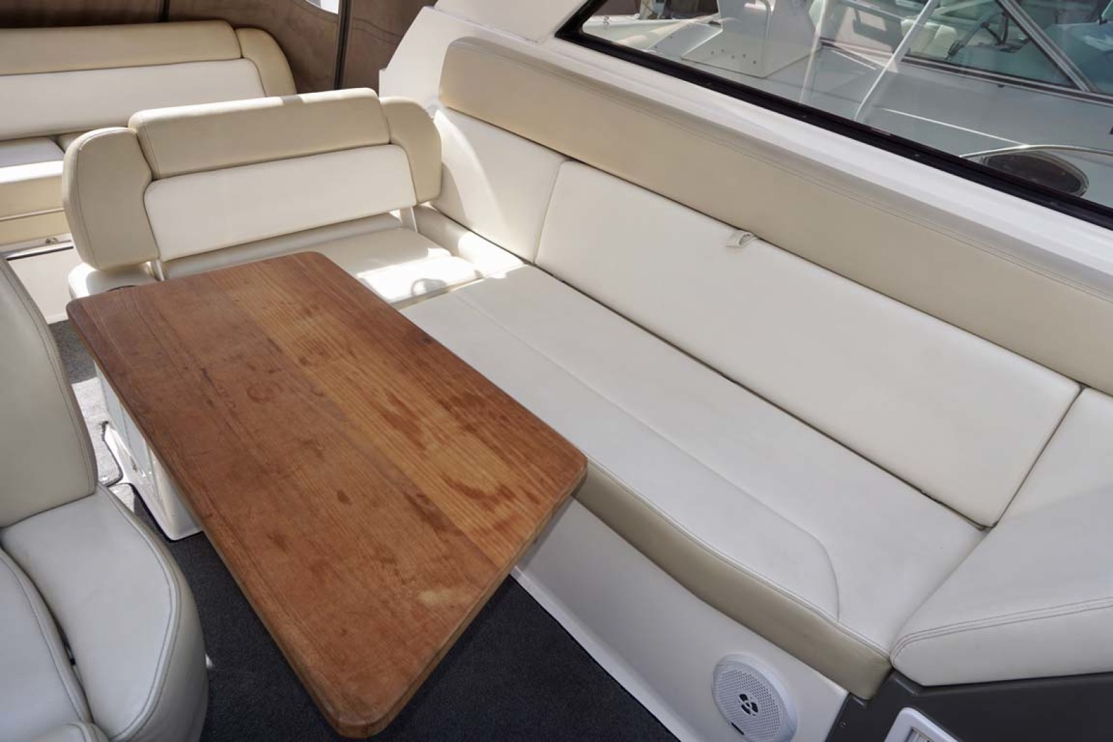 Regal-35 Sport Coupe 2012-KISA Aventura-Florida-United States-Seat Back Reconfigured For Helm Deck Table-1224619 | Thumbnail