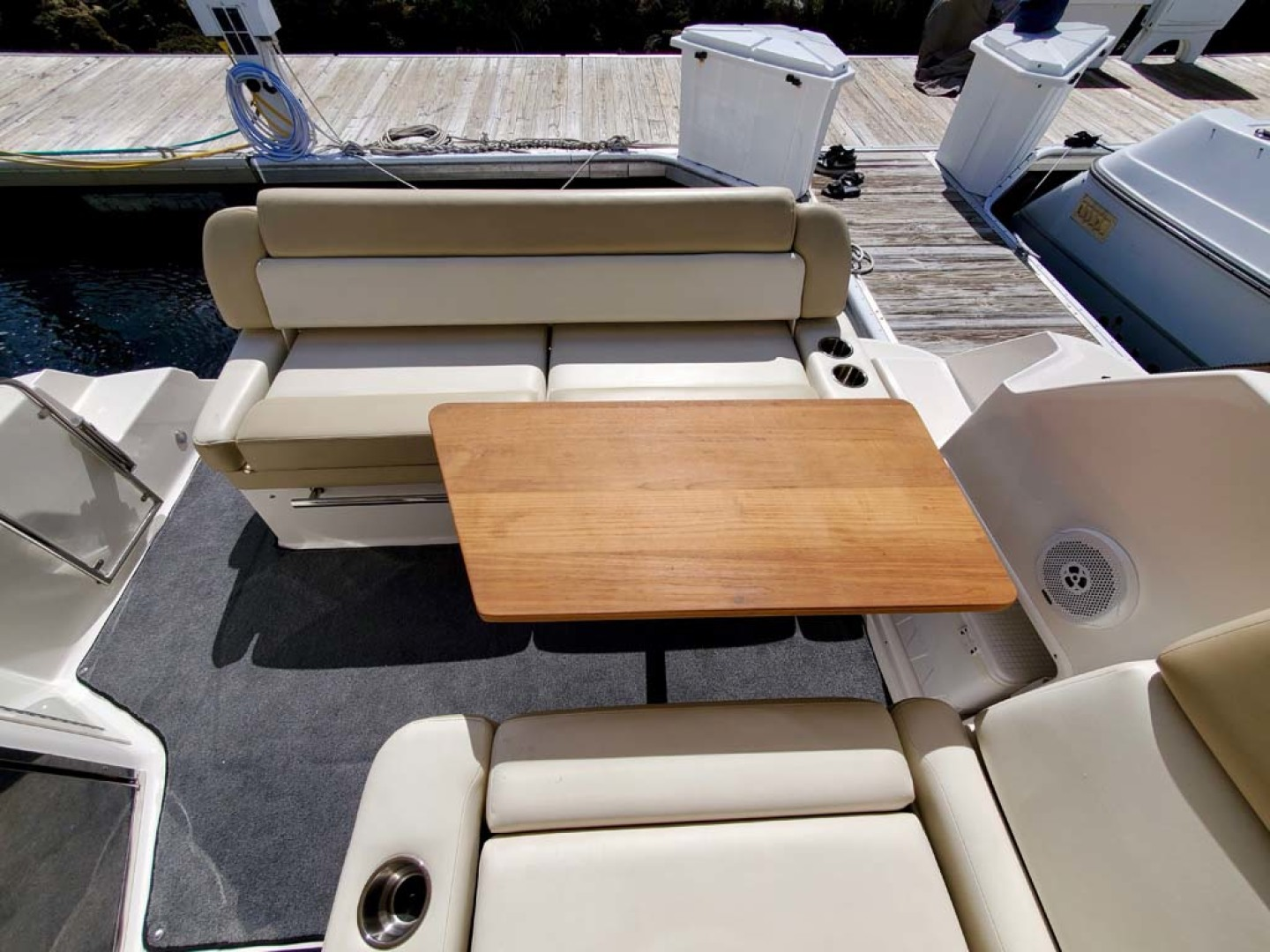 Regal-35 Sport Coupe 2012-KISA Aventura-Florida-United States-Pull Out Table-1224615 | Thumbnail