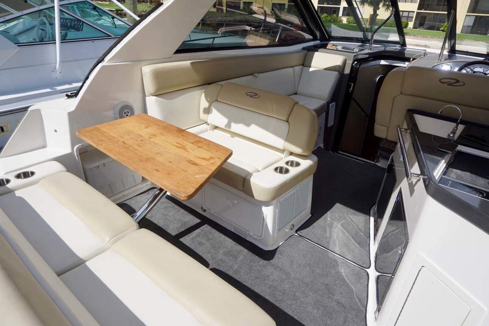 Regal-35 Sport Coupe 2012-KISA Aventura-Florida-United States-Seat Back Moved For Aft Table-1224620 | Thumbnail