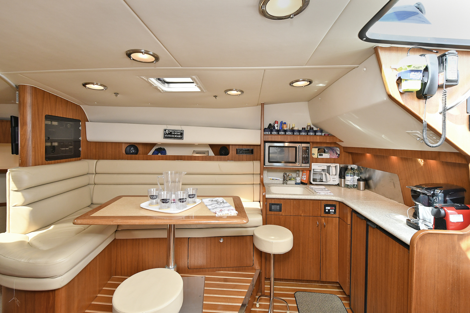 Tiara-3800 Open 2003-Catch 22 Oyster Bay-New York-United States-Dinette/ Galley-1224923 | Thumbnail