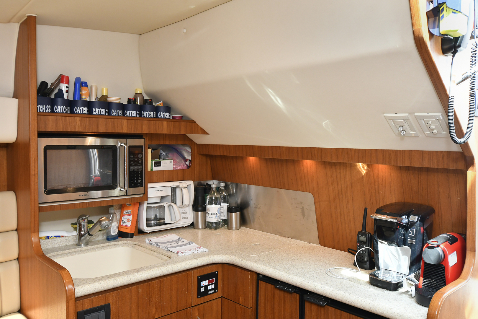 Tiara-3800 Open 2003-Catch 22 Oyster Bay-New York-United States-Galley-1224924 | Thumbnail