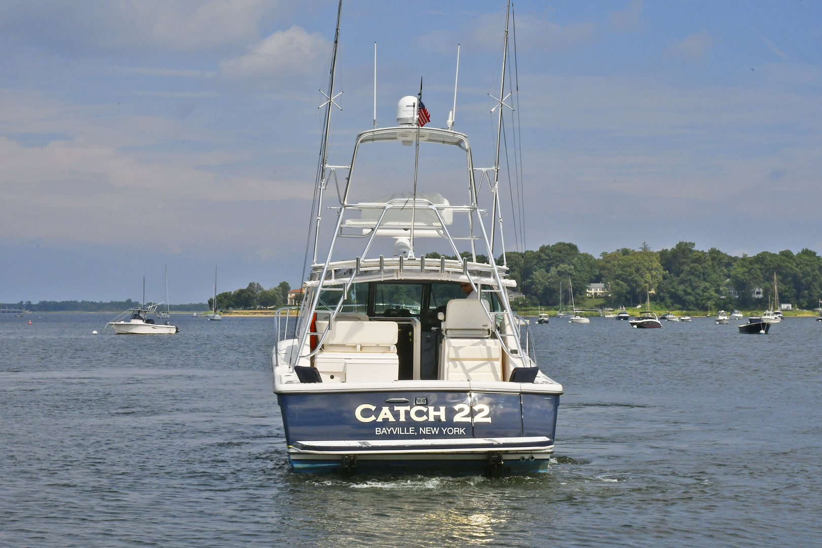 Tiara-3800 Open 2003-Catch 22 Oyster Bay-New York-United States-Transom-1224900 | Thumbnail