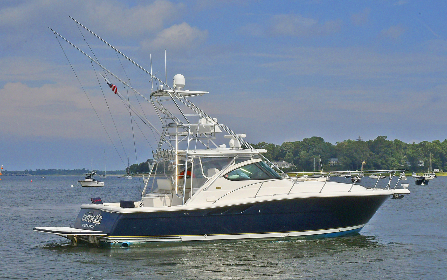 Tiara-3800 Open 2003-Catch 22 Oyster Bay-New York-United States-Starboard Stern-1224904 | Thumbnail