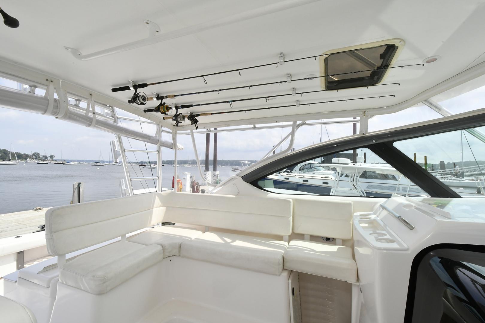 Tiara-3800 Open 2003-Catch 22 Oyster Bay-New York-United States-Companion Seating & Rod Storage-1224913 | Thumbnail