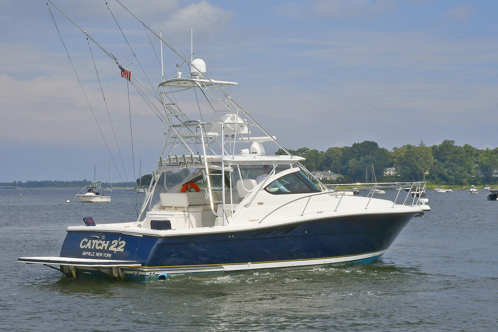 Tiara-3800 Open 2003-Catch 22 Oyster Bay-New York-United States-Port Side Stern-1224901 | Thumbnail