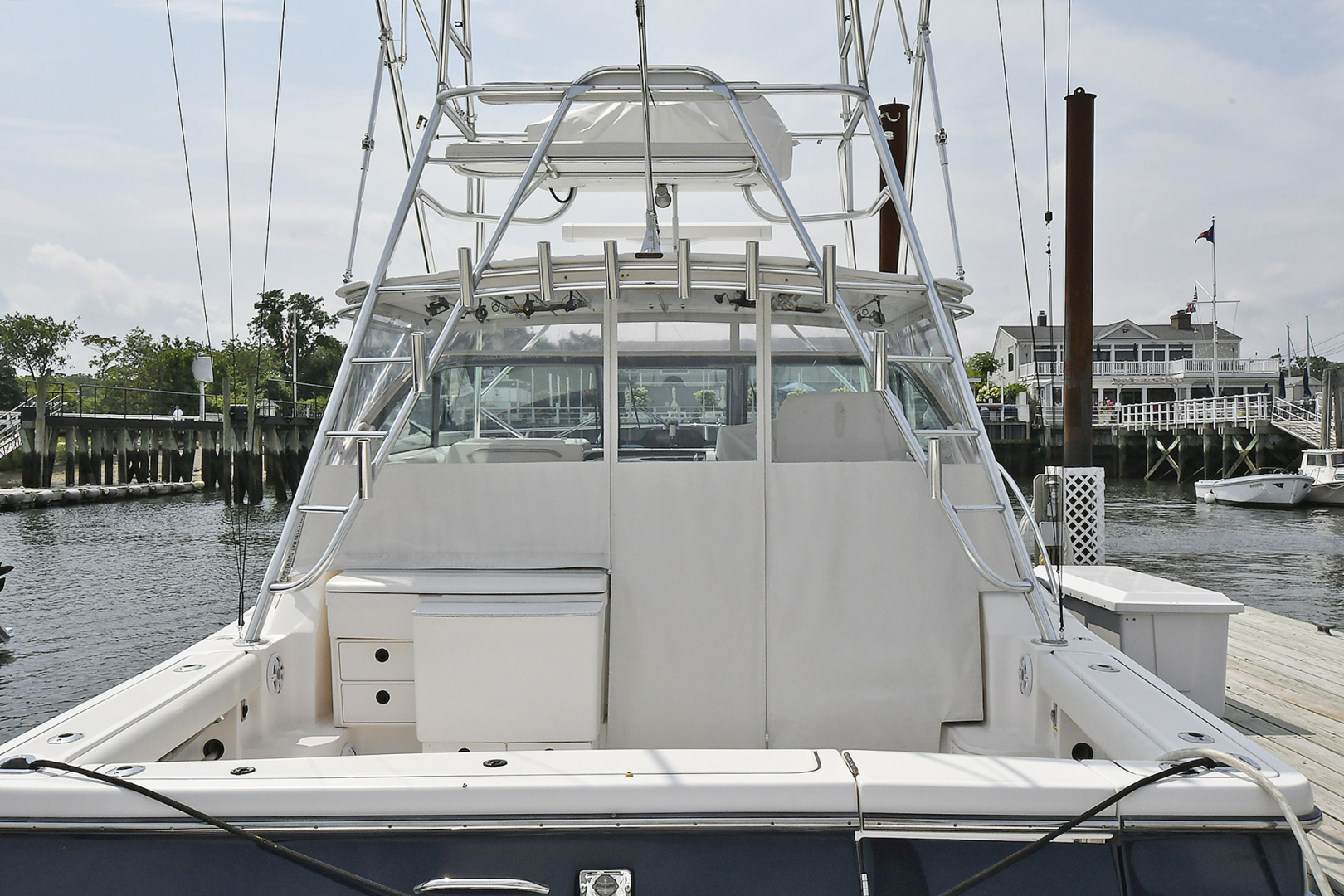 Tiara-3800 Open 2003-Catch 22 Oyster Bay-New York-United States-Cockpit-1224907 | Thumbnail