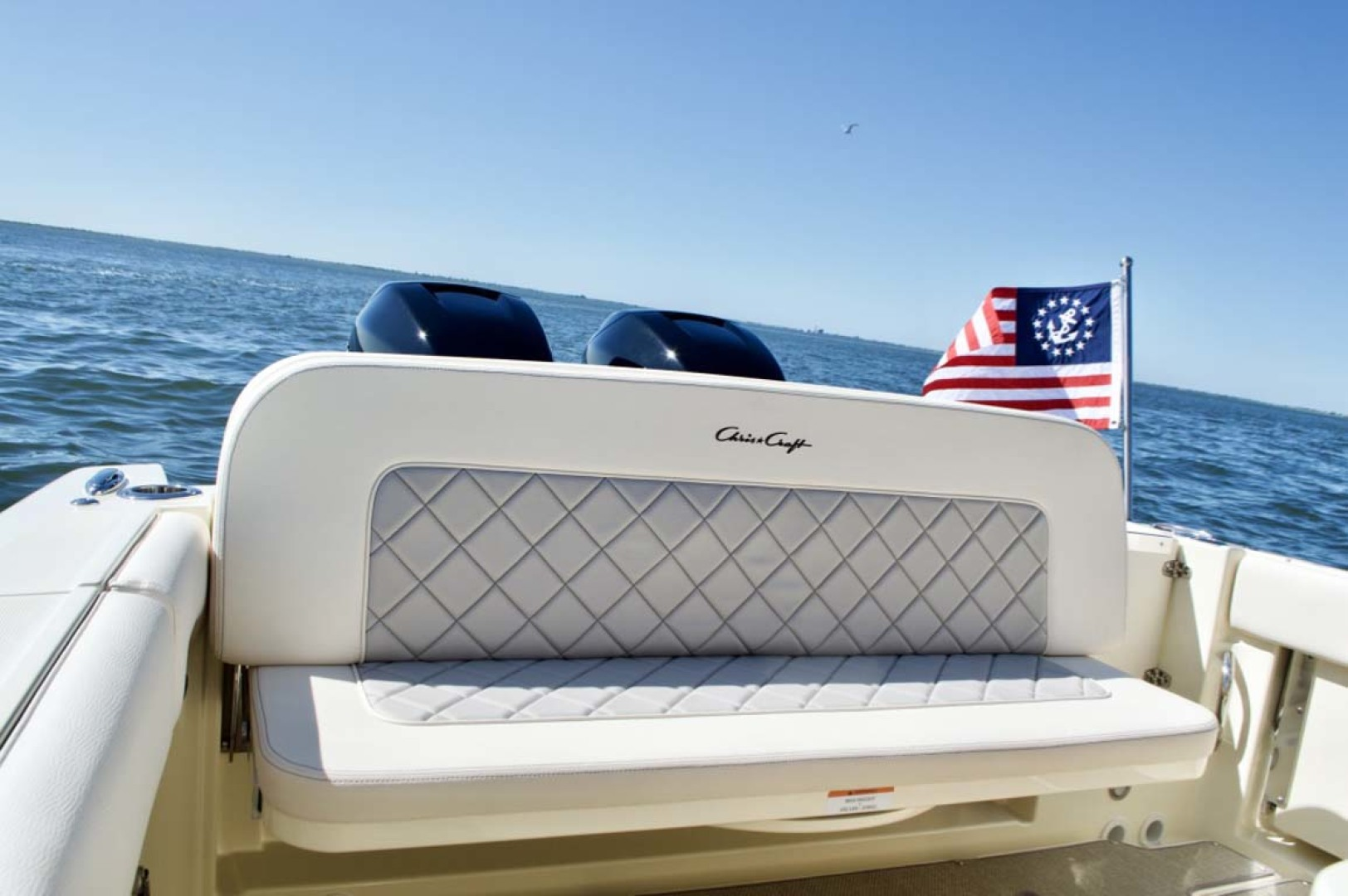 Chris-Craft-30 Catalina 2018-Blue Waters Long Island-New York-United States-Transom Seat-1228959 | Thumbnail