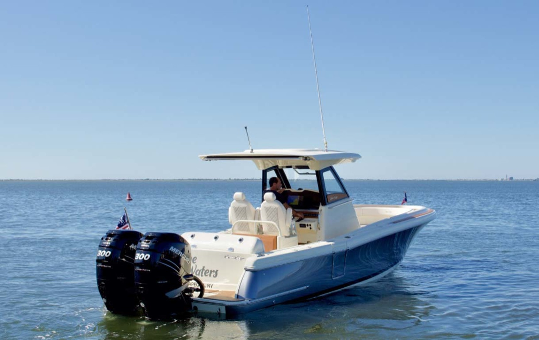 Chris-Craft-30 Catalina 2018-Blue Waters Long Island-New York-United States-Starboard Quarter-1228930 | Thumbnail