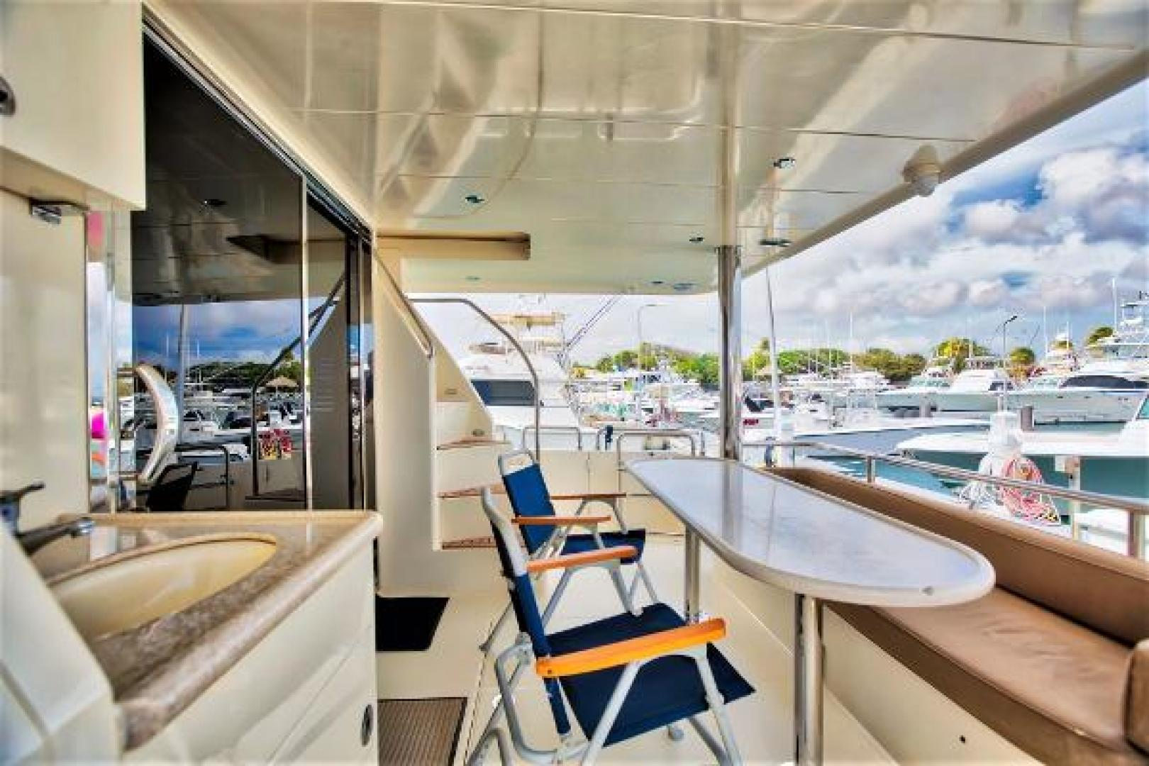 Picture Of: 58' Hampton 580 Pilot House 2009 Yacht For Sale | 2 of 37