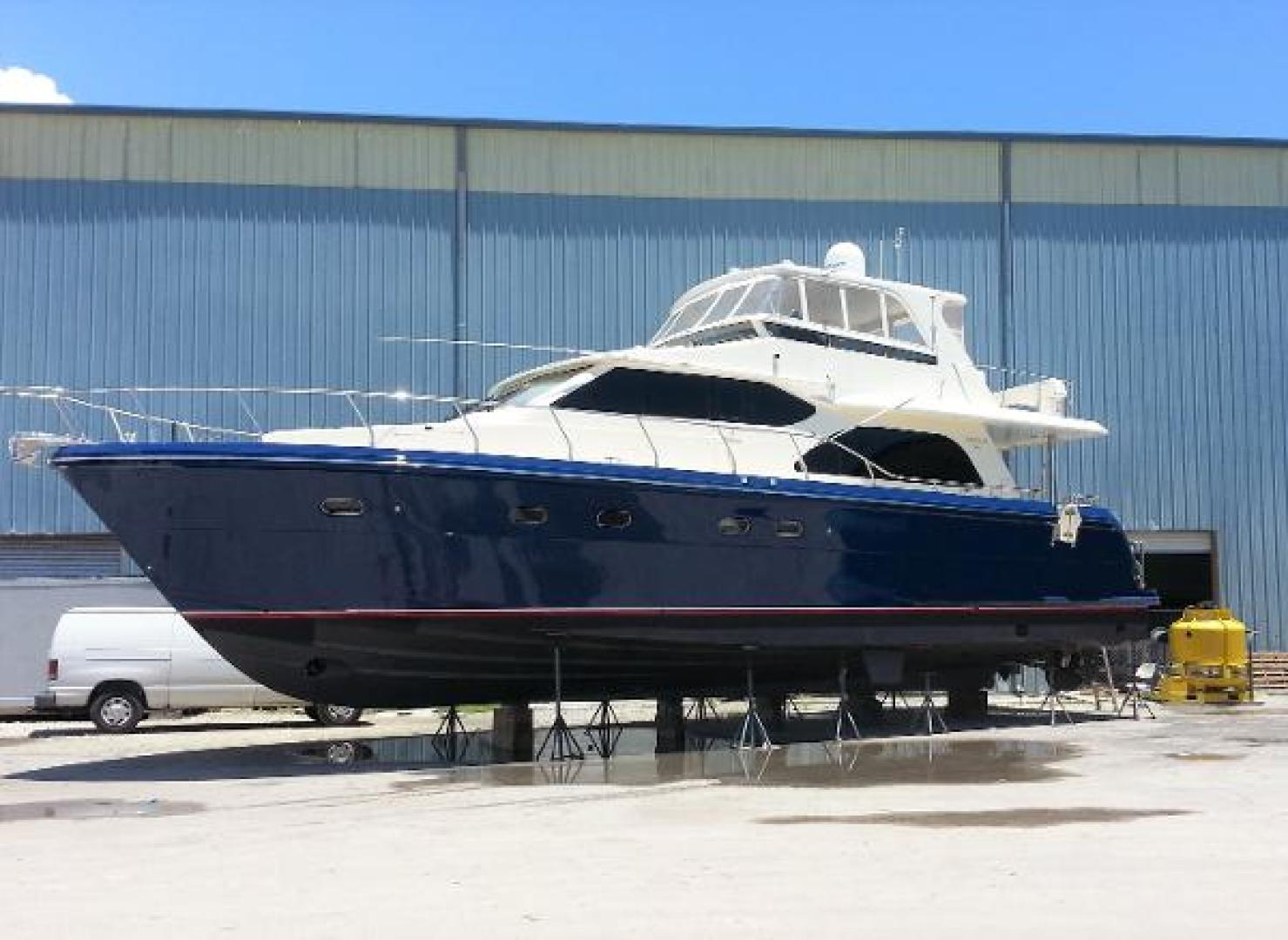 Picture Of: 58' Hampton 580 Pilot House 2009 Yacht For Sale | 1 of 37