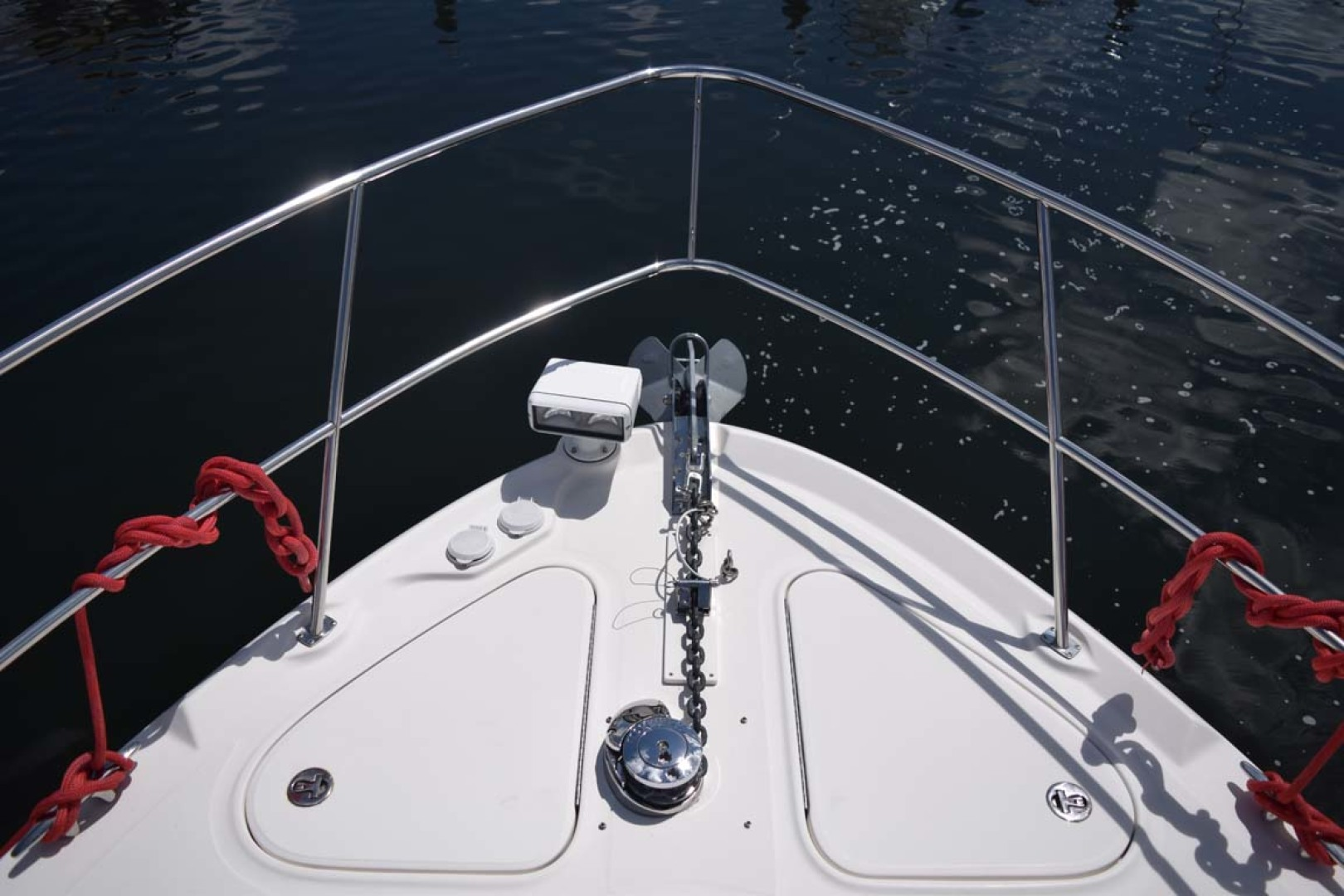 Sea Ray-44 Sedan Bridge 2006-Mr. Munch Coral Gables-Florida-United States-Bow with Windlass Detail-1229811 | Thumbnail