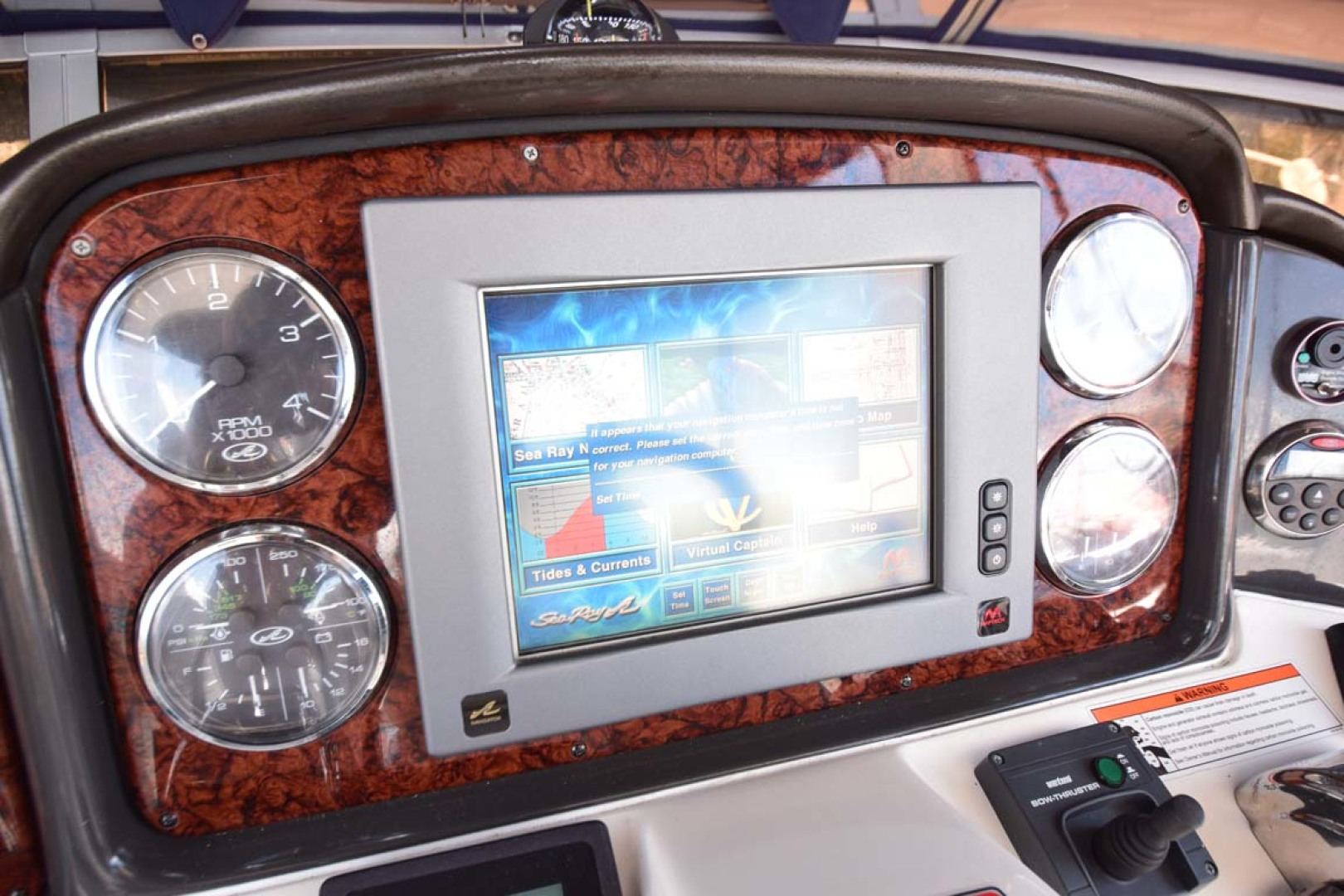 Sea Ray-44 Sedan Bridge 2006-Mr. Munch Coral Gables-Florida-United States-Helm Instruments & Gauges-1229892 | Thumbnail