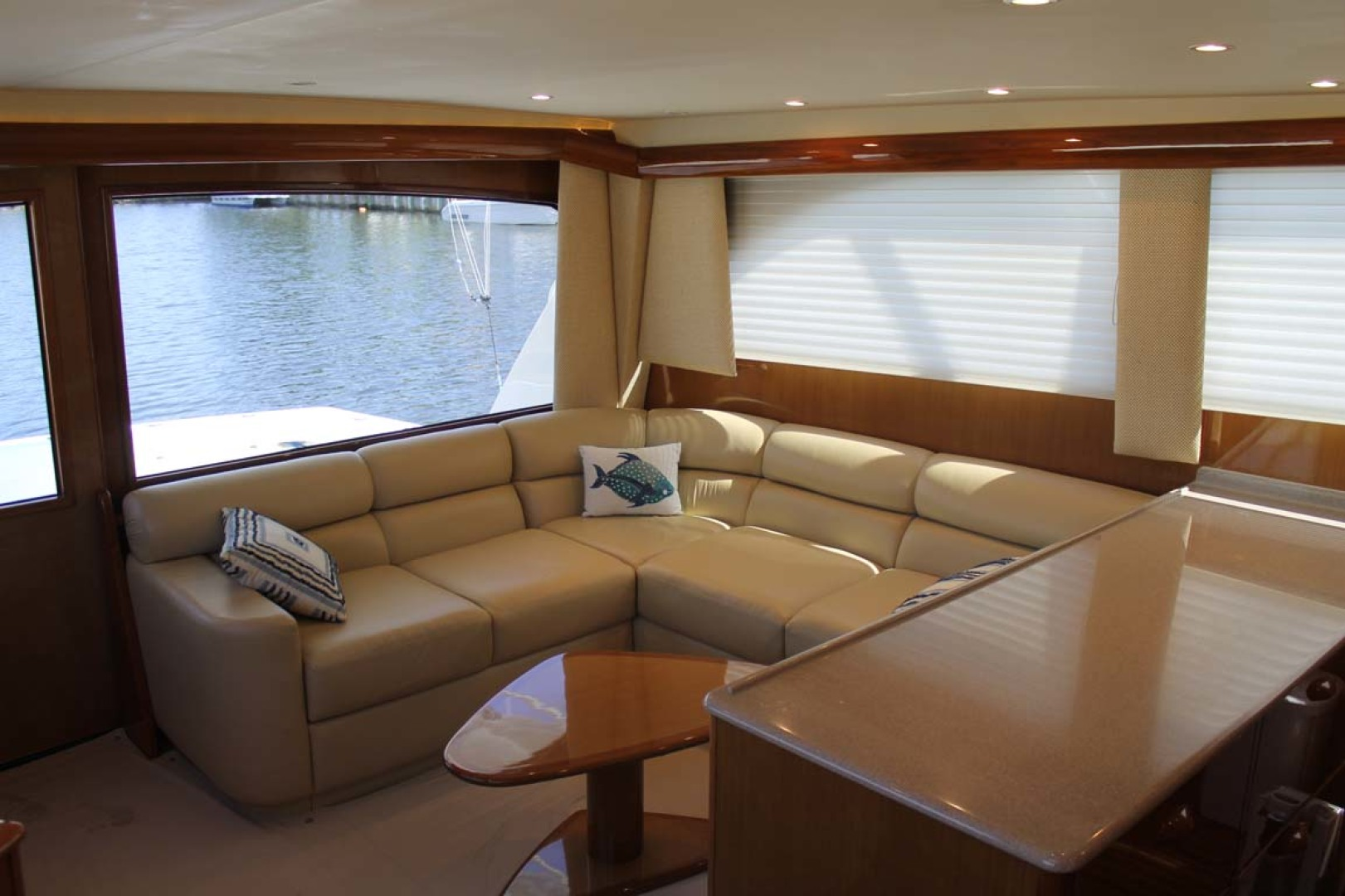 Viking-52 Convertible 2002-Wound Up Cape May-New Jersey-United States-Salon Seating-1230052 | Thumbnail