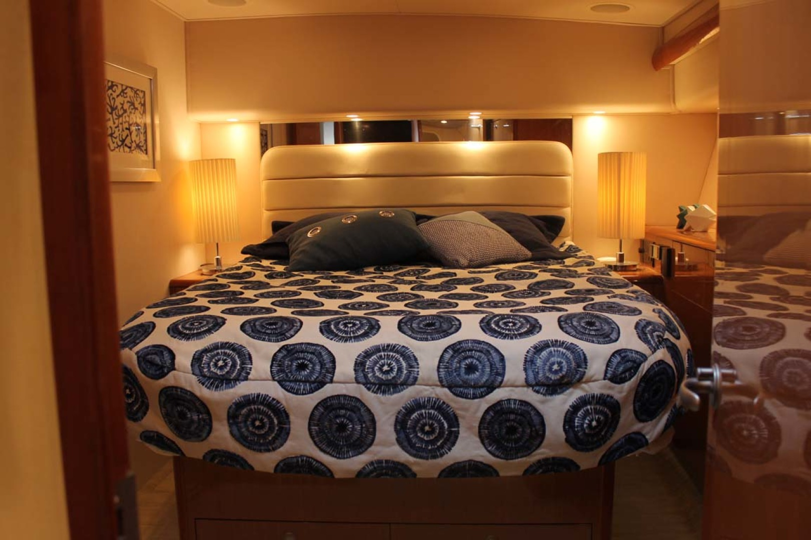 Viking-52 Convertible 2002-Wound Up Cape May-New Jersey-United States-Master Stateroom-1230062 | Thumbnail