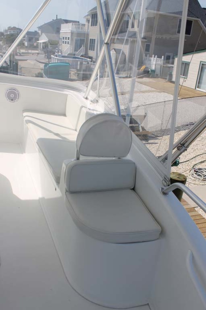 Viking-52 Convertible 2002-Wound Up Cape May-New Jersey-United States-Helm Seating-1230050 | Thumbnail
