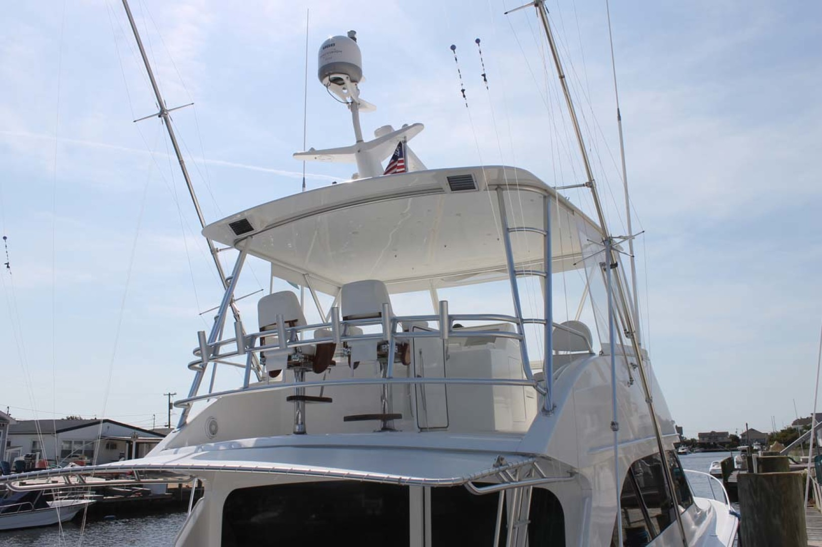 Viking-52 Convertible 2002-Wound Up Cape May-New Jersey-United States-Hardtop With Enclosure And Teak Helm Chairs-1230037 | Thumbnail