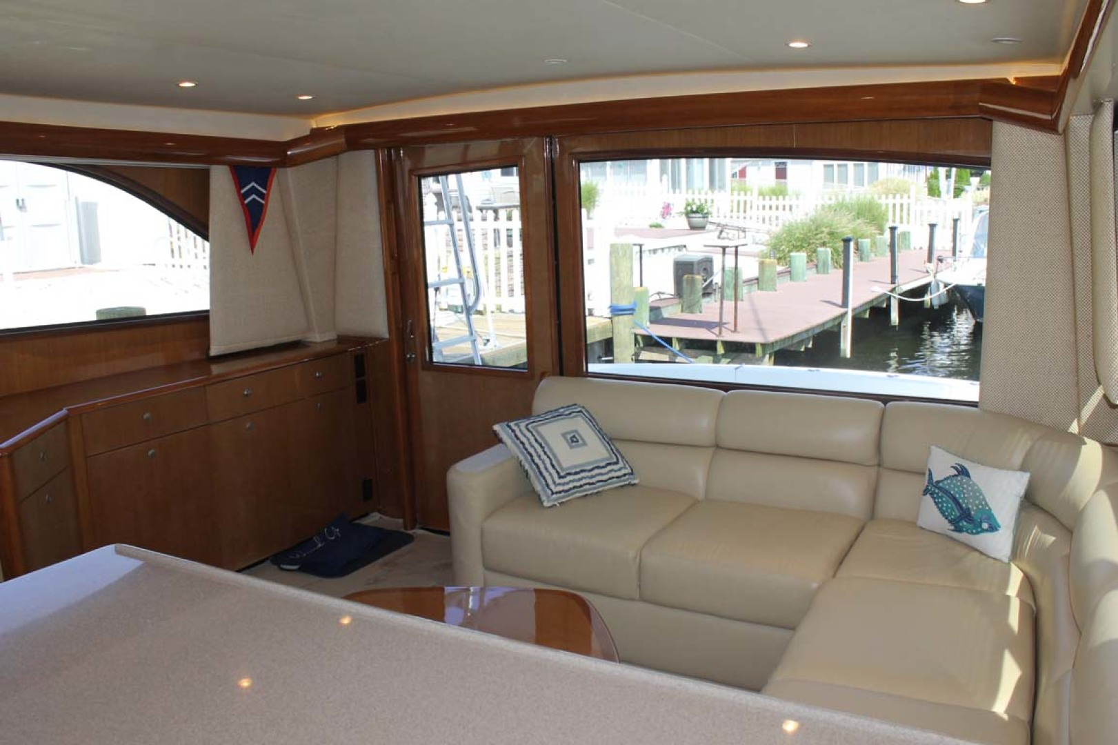 Viking-52 Convertible 2002-Wound Up Cape May-New Jersey-United States-Salon Seating-1230051 | Thumbnail