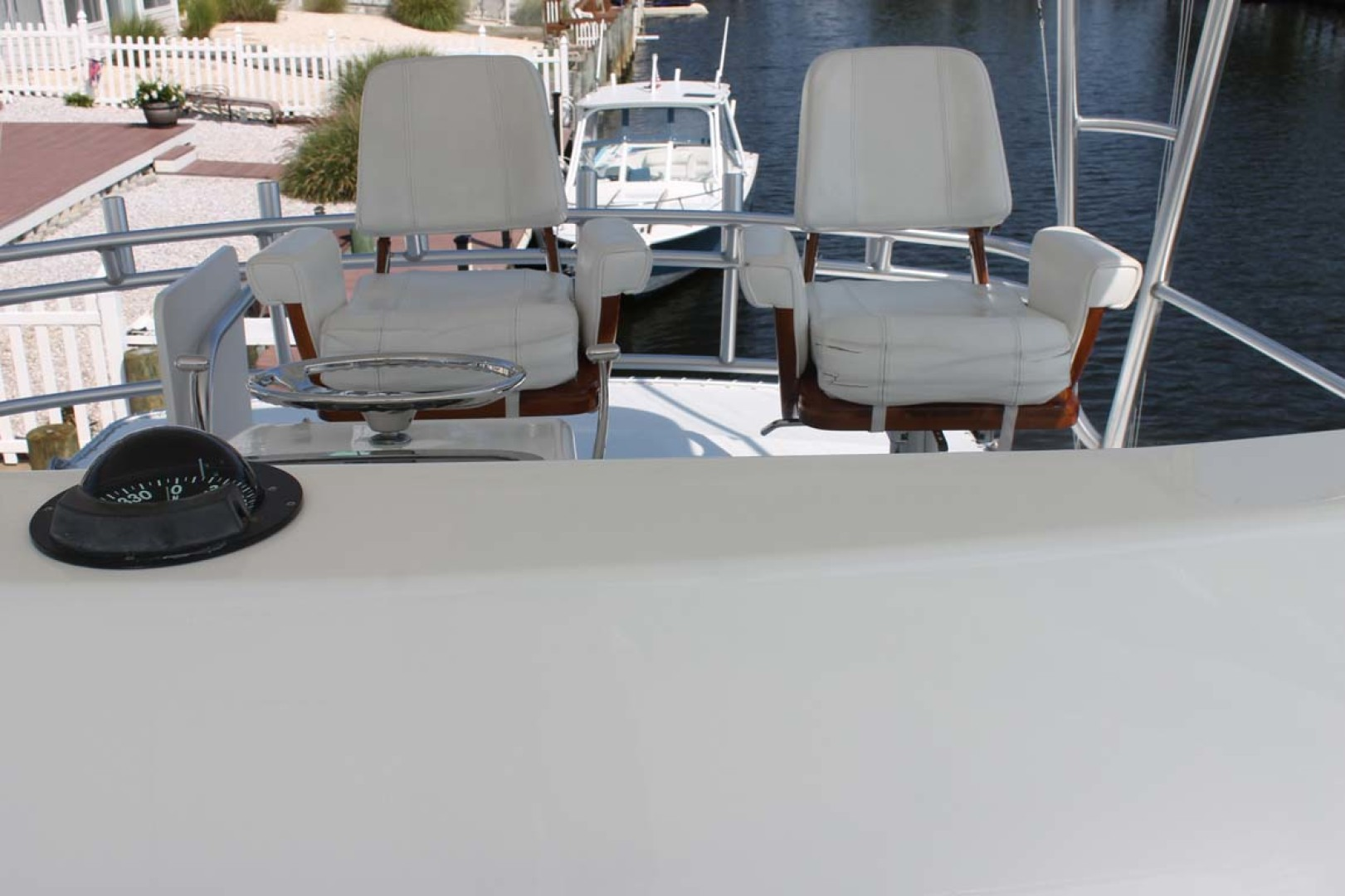 Viking-52 Convertible 2002-Wound Up Cape May-New Jersey-United States-Helm Chairs With Cushions-1230040 | Thumbnail