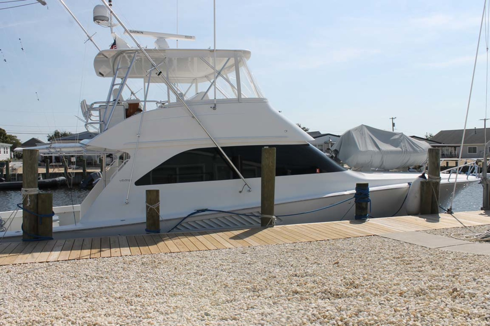 Viking-52 Convertible 2002-Wound Up Cape May-New Jersey-United States-Port Side At Dock-1230097 | Thumbnail
