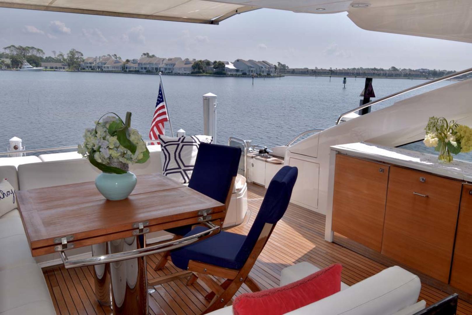 Princess-V72 2013-High Bid Destin-Florida-United States-Cockpit Table-1233094 | Thumbnail
