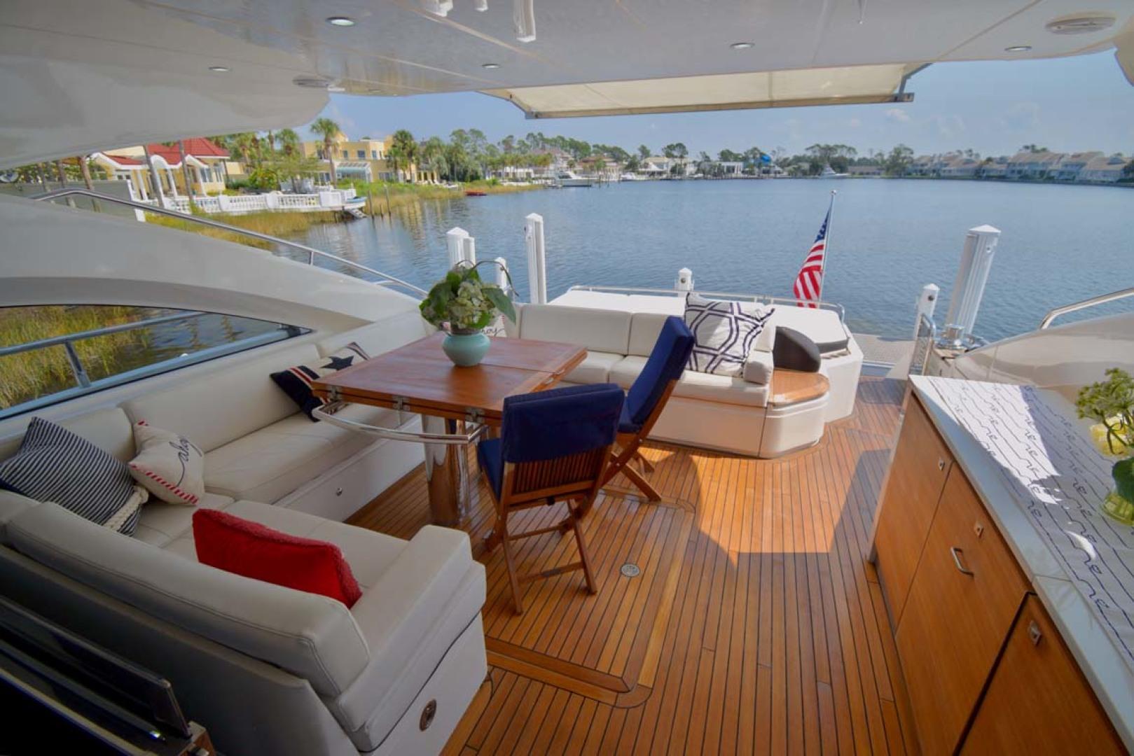 Princess-V72 2013-High Bid Destin-Florida-United States-Outdoor Lounge Seating-1233095 | Thumbnail