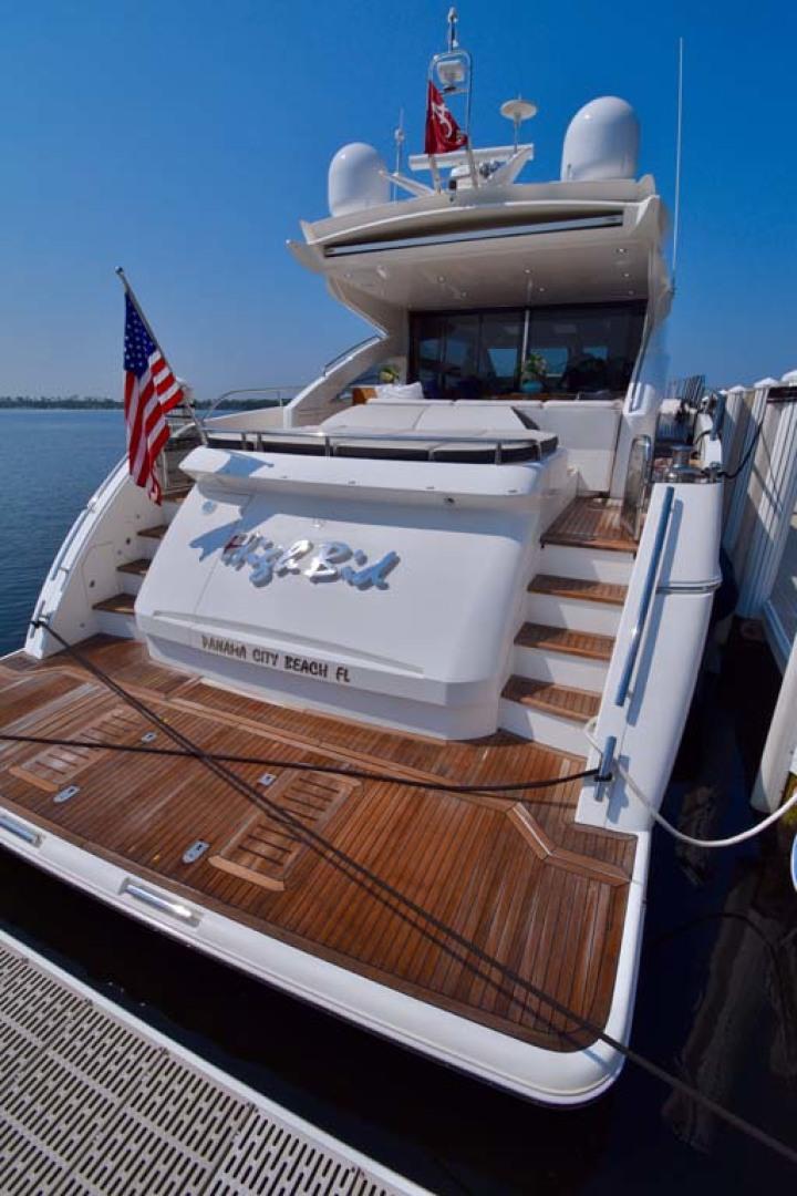 Princess-V72 2013-High Bid Destin-Florida-United States-Transom And Swim Platform-1233103 | Thumbnail