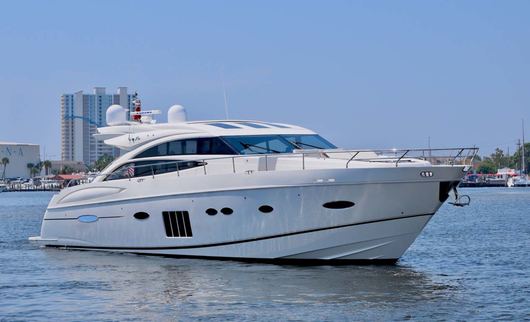 Picture Of: 72' Princess V72 2013 Yacht For Sale | 1 of 56