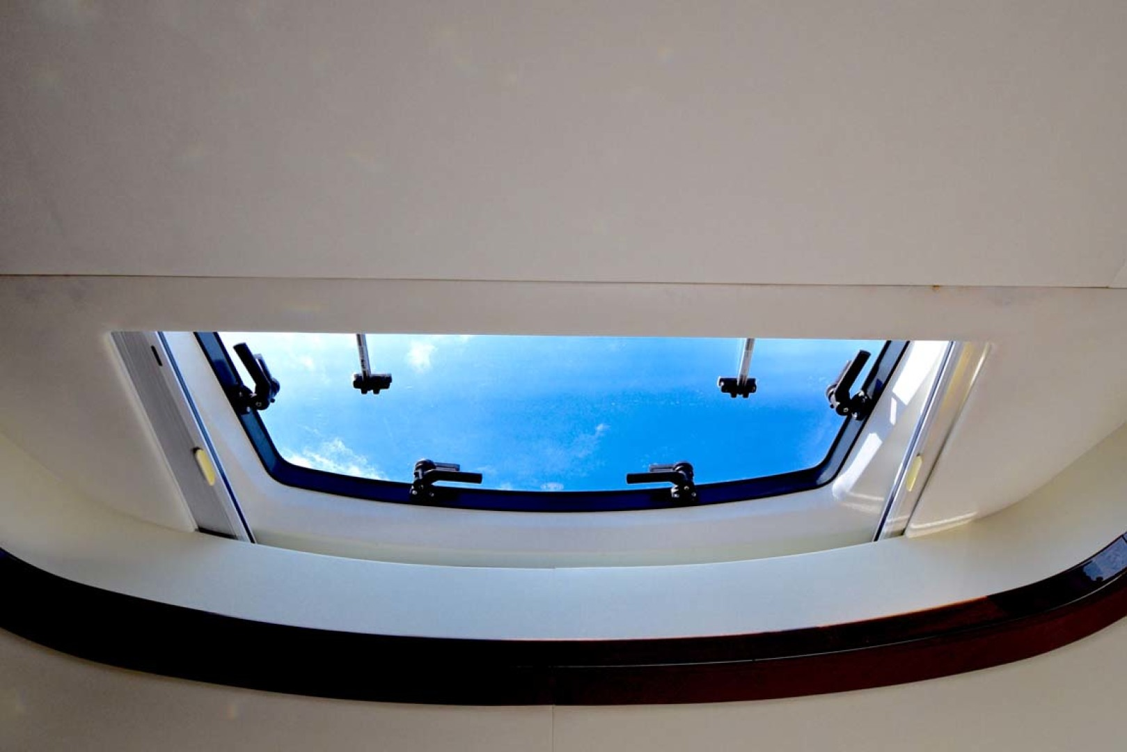 Princess-V72 2013-High Bid Destin-Florida-United States-VIP Stateroom Overhead Hatch-1233089 | Thumbnail