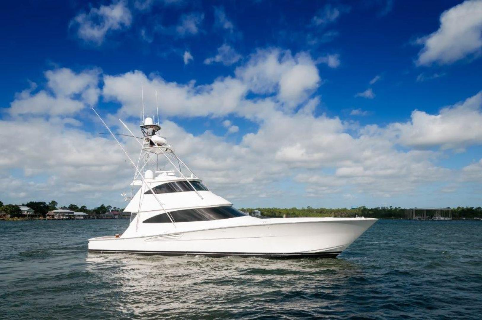 Viking-72 Enclosed Bridge 2017-SHARE E Orange Beach-Alabama-United States-2017 72 EB Viking SHARE-E Starboard Profile-1233280 | Thumbnail