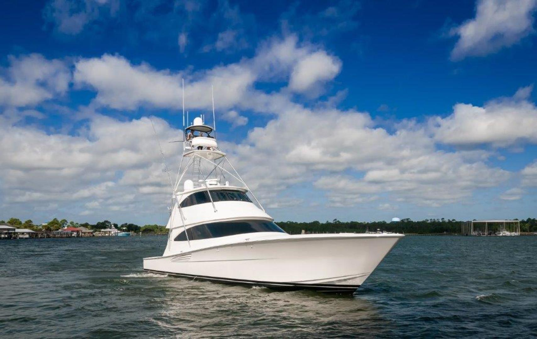 Viking-72 Enclosed Bridge 2017-SHARE E Orange Beach-Alabama-United States-2017 72 EB Viking SHARE-E  Starboard Bow-1233278 | Thumbnail