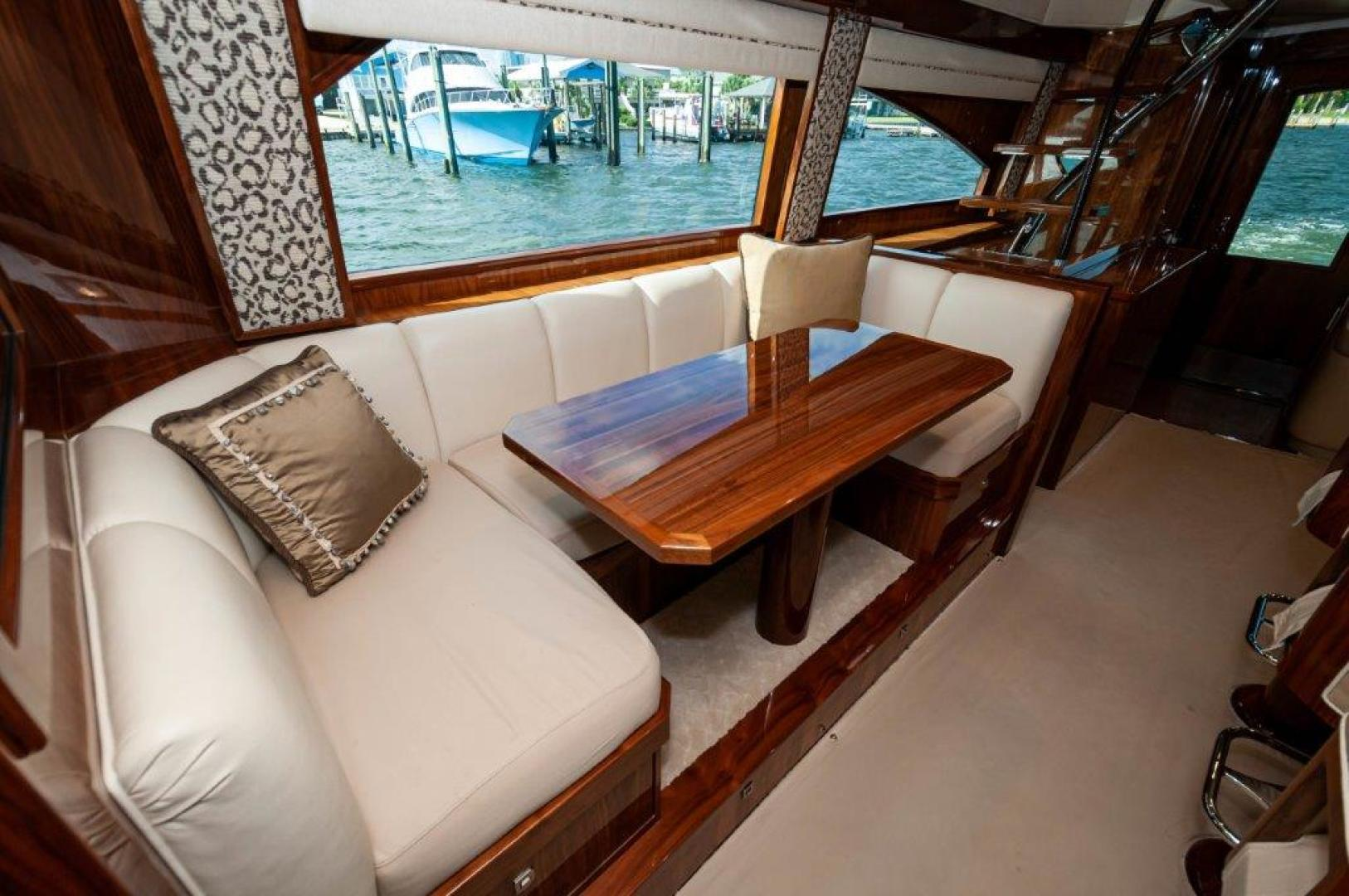 Viking-72 Enclosed Bridge 2017-SHARE E Orange Beach-Alabama-United States-2017 72 EB Viking SHARE-E  Dining-1233228 | Thumbnail