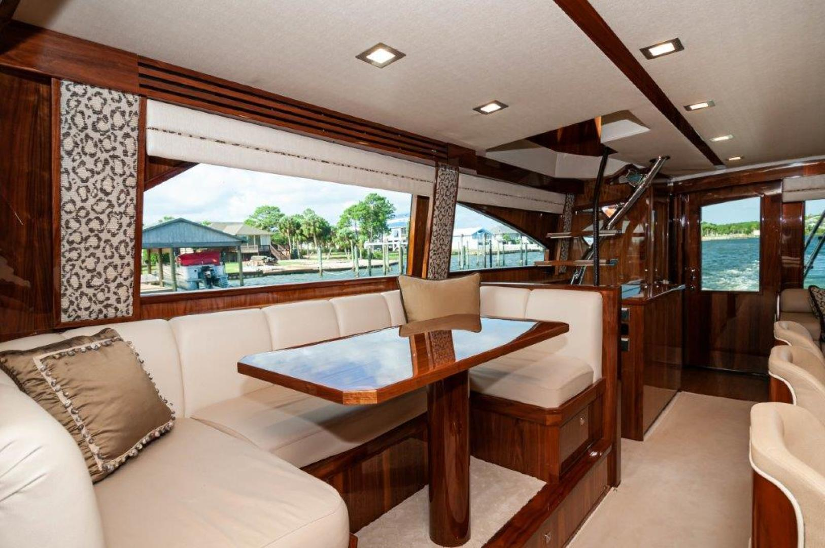 Viking-72 Enclosed Bridge 2017-SHARE E Orange Beach-Alabama-United States-2017 72 EB Viking SHARE-E  Dining-1233229 | Thumbnail