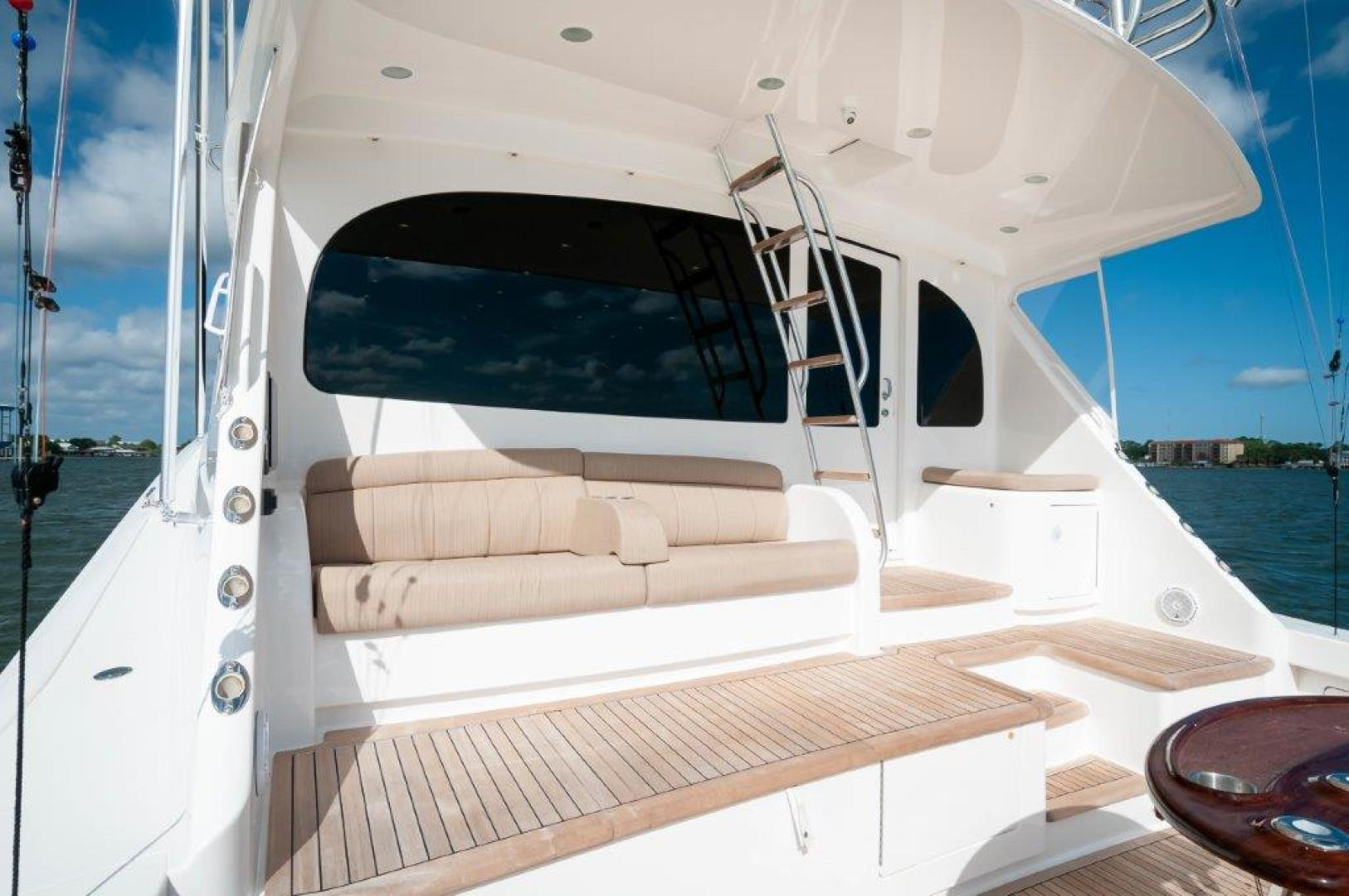 Viking-72 Enclosed Bridge 2017-SHARE E Orange Beach-Alabama-United States-2017 72 EB Viking SHARE-E Cockpit-1233217 | Thumbnail