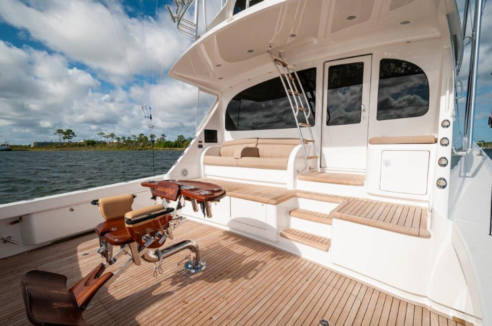 Viking-72 Enclosed Bridge 2017-SHARE E Orange Beach-Alabama-United States-2017 72 EB Viking SHARE-E Cockpit-1233221 | Thumbnail