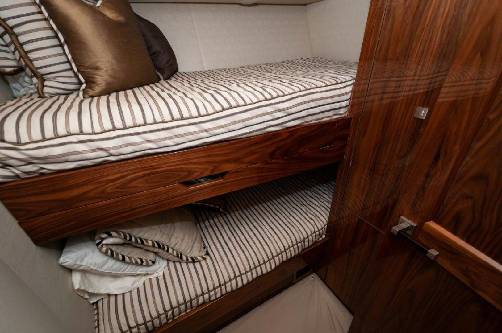 Viking-72 Enclosed Bridge 2017-SHARE E Orange Beach-Alabama-United States-2017 72 EB Viking SHARE-E Bunk Room-1233212 | Thumbnail