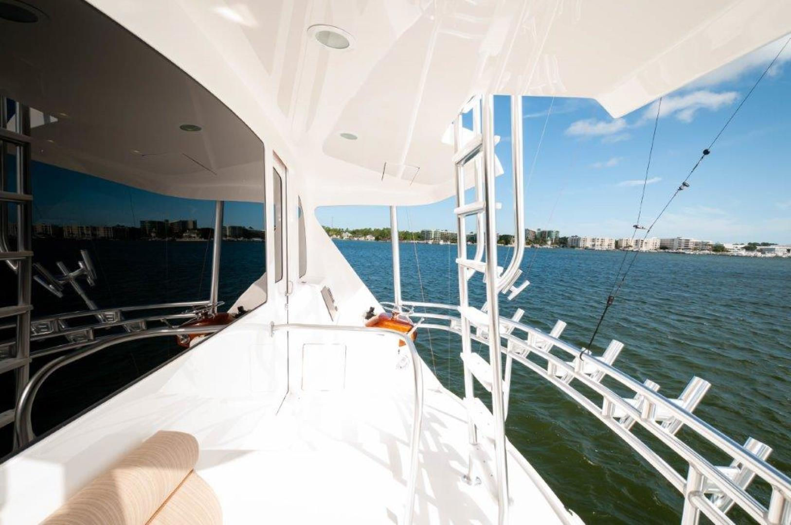 Viking-72 Enclosed Bridge 2017-SHARE E Orange Beach-Alabama-United States-2017 72 EB Viking SHARE-E Aux Helm-1233237 | Thumbnail