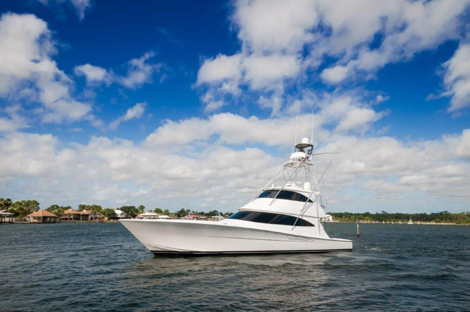 Viking-72 Enclosed Bridge 2017-SHARE E Orange Beach-Alabama-United States-2017 72 EB Viking SHARE-E Port Profile-1233271 | Thumbnail